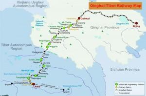 qinghai-tibet-railway-map