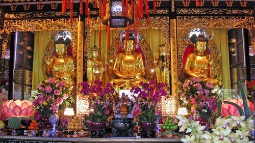 buddha trinity