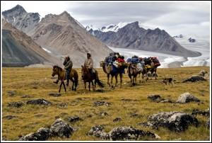 MongolCamelTrain&Glacier