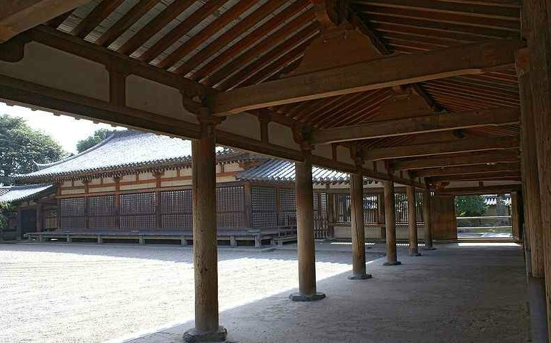 houryuji-cloister